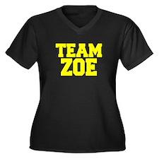 TEAM ZOE Plus Size T-Shirt