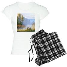 Lake Painting Pajamas
