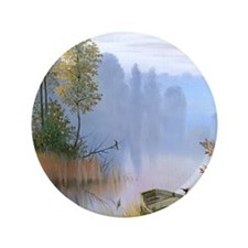"""Lake Painting 3.5"""" Button (100 pack)"""