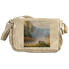 Lake Painting Messenger Bag