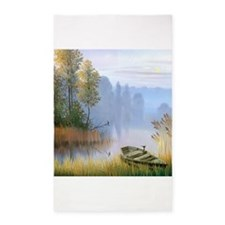 Lake Painting 3'x5' Area Rug
