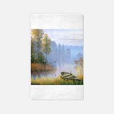 Lake Painting 3'x5' Area Rug