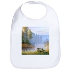 Lake Painting Bib