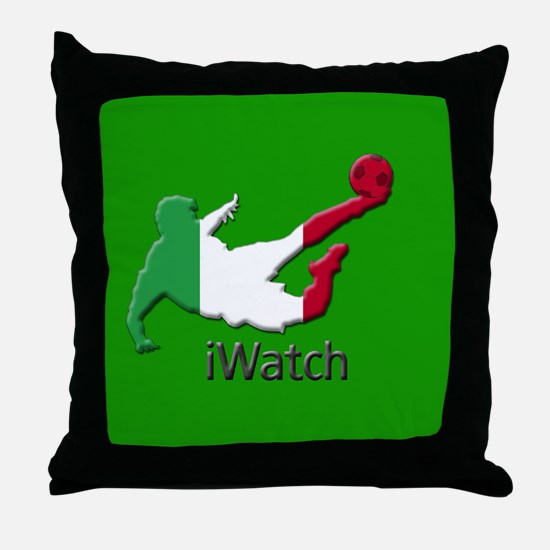 iWatch Italy Throw Pillow