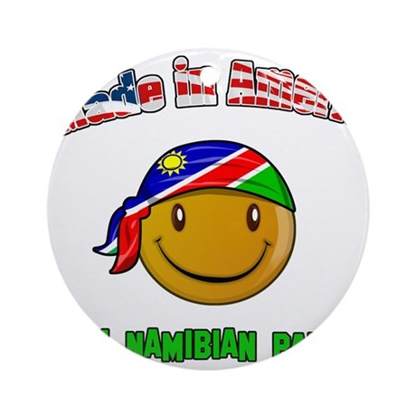 Made in America with Namibian Ornament (Round)