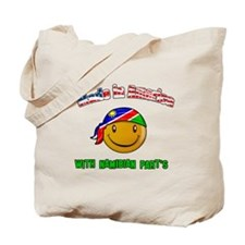 Made in America with Namibian Tote Bag