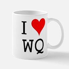 I Love WQ Mug