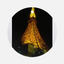 tokyo tower gifts Ornament (Round)
