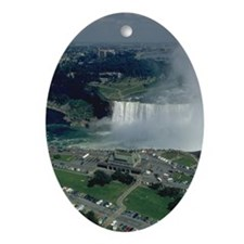 niagra falls gifts Ornament (Oval)
