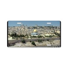 holy land gifts Aluminum License Plate