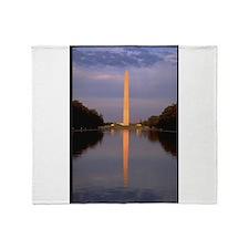 washington monument gifts Throw Blanket