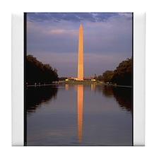 washington monument gifts Tile Coaster