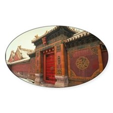 Beijing,forbidden city china Decal