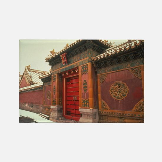 Beijing,forbidden city china Magnets