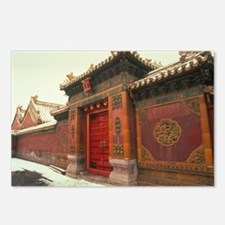 Beijing,forbidden city china Postcards (Package of