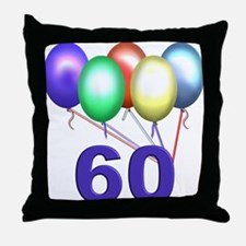 60 Gifts Throw Pillow
