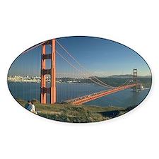 san franciso golden gate bridge gifts Decal