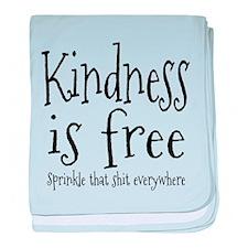Sprinkle Kindness baby blanket