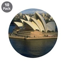 """sydney opera house gifts 3.5"""" Button (10 pack)"""
