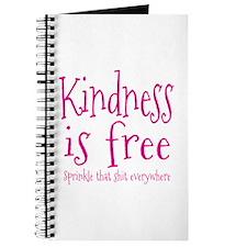 Sprinkle Kindness Pink Journal