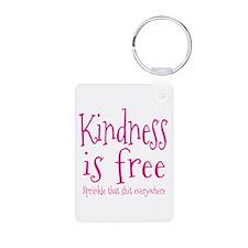 Sprinkle Kindness Pink Keychains