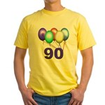 90 Gifts Yellow T-Shirt