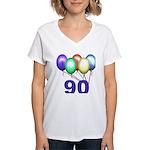 90 Gifts Women's V-Neck T-Shirt