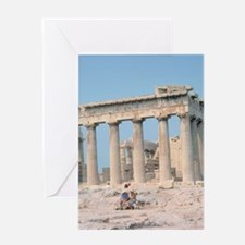 parthenon gifts Greeting Cards