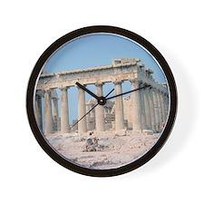 parthenon gifts Wall Clock