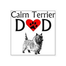 Cairn Terrier Dad Sticker