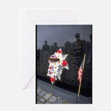 vietnam memorial gifts Greeting Cards