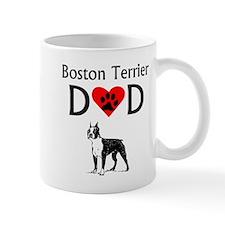 Boston Terrier Dad Mugs