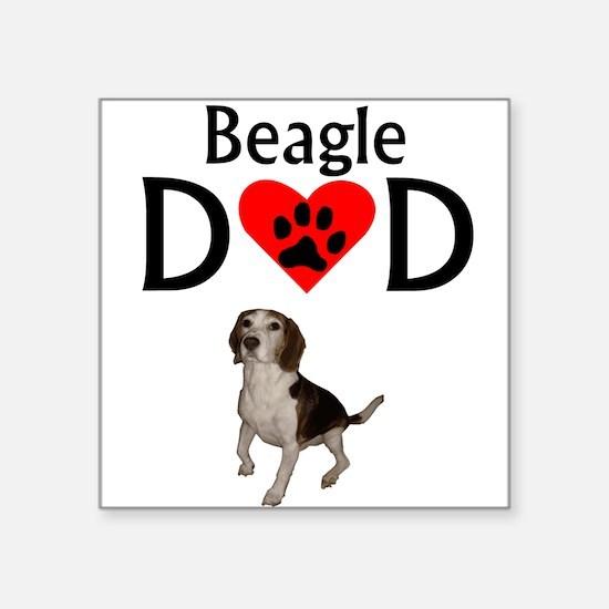 Beagle Dad Sticker
