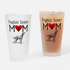 English Setter Mom Drinking Glass