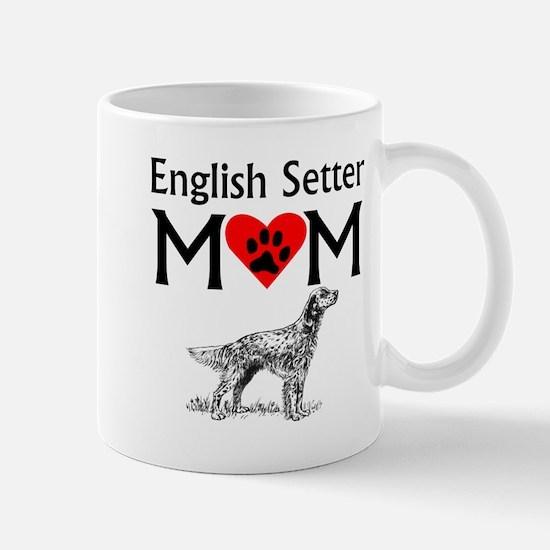 English Setter Mom Mugs