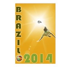 2014 world cup  Postcards (Package of 8)