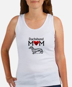 Dachshund Mom Tank Top