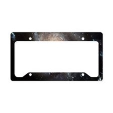 spiral galaxy gifts License Plate Holder