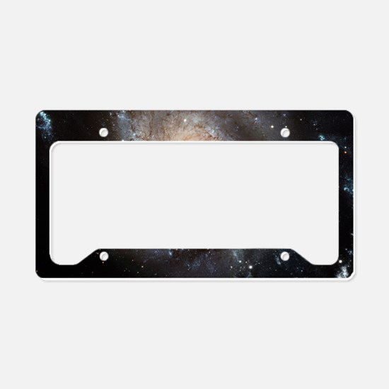 spiral galaxy gifts License Plate Holder
