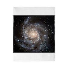 spiral galaxy gifts Twin Duvet