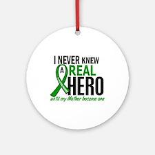 Cerebral Palsy Real Hero 2 Ornament (Round)