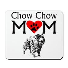 Chow Chow Mom Mousepad