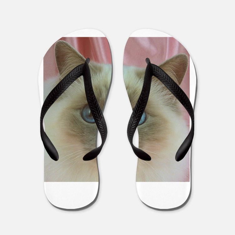 Siamese Cat gifts Flip Flops
