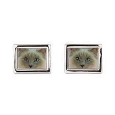 Siamese Cat gifts Rectangular Cufflinks
