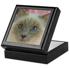 Siamese Cat gifts Keepsake Box