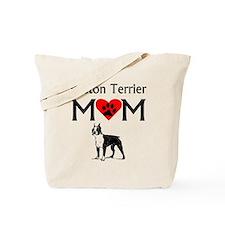 Boston Terrier Mom Tote Bag