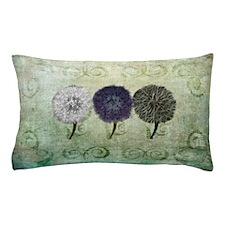 Digital Study of Dandelions King Pillow Case