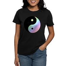 Yin Yang Pastel Rainbow - Girl Tease T-Shirt