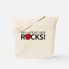 My Teacher Rocks! Tote Bag