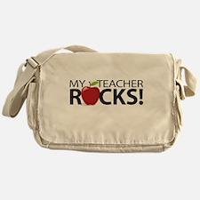 My Teacher Rocks! Messenger Bag
